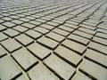Earth bricks Royalty Free Stock Photo