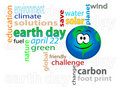 Earth day 2 Royalty Free Stock Photography
