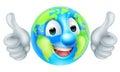 Earth Day Cartoon Character