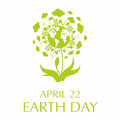 stock image of  earth day poster