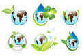 Earth Eco Designs Royalty Free Stock Photo