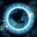 Earth Globe World Background