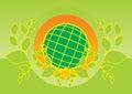 Earth logo Royalty Free Stock Photos