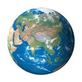 Earth Model from Space: Asia View Royalty Free Stock Photography
