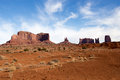 Earth monuments and stone in the utah desert Stock Photo