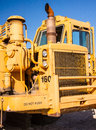 Earth Mover Driver's Cab Stock Photography