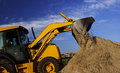 Earth moving machine Royalty Free Stock Photo