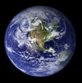 Earth - North America Royalty Free Stock Photo