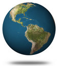 Earth (North and South America) Stock Photo