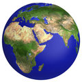 Earth planet globe map Royalty Free Stock Photography