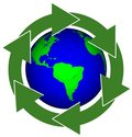 Earth Recycle Royalty Free Stock Image