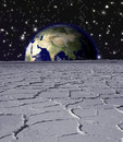 Earth Rise Stock Images