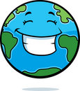 Earth Smiling Stock Photos