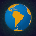 Earth South America View