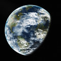 Earth from space elements of this image furnished by nasa detailed Royalty Free Stock Images