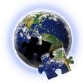 Earth Teamwork Royalty Free Stock Photo