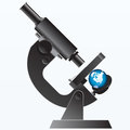 Earth under the Microscope Stock Photos