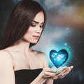 Earth in your hands. Royalty Free Stock Photo