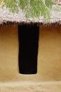 Earthen Plaster Door Royalty Free Stock Photo