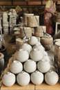 Earthenware industry, Pottery industry Stock Photos