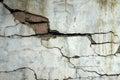 Earthquake destroy Royalty Free Stock Photo