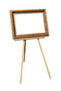 Easel with Royalty Free Stock Photo