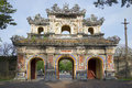 East Bastion-gates of the forbidden city. Hue, Vietnam Royalty Free Stock Photo