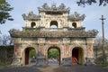 East Bastion-gates of the forbidden city. Hue, Vietnam Royalty Free Stock Photo