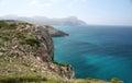East coast of mallorca spain the parc natural de llevant artà majorca Royalty Free Stock Images