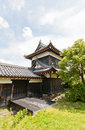 East Corner Turret of Yamato Koriyama castle, Japan Royalty Free Stock Photo