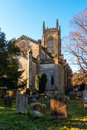 EAST GRINSTEAD, WEST SUSSEX/UK - JANUARY 20 : View of St Swithun