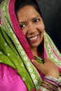 East Indian woman Stock Images