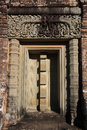 East Mebon Temple False Door Stock Photography