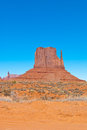 East Mitten in Monument Valley Royalty Free Stock Photos