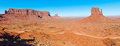East Mitten in Monument Valley Stock Photography