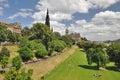East Princess Street Gardens in Edinburgh