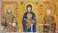 East Roman wall mosaic Royalty Free Stock Photo