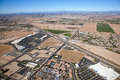 East valley growth and development in the outside phoenix arizona Royalty Free Stock Images