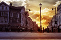 Eastbourne city uk during summer Stock Photography