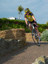 Eastbourne cycling festival cyclists at the east sussex uk Royalty Free Stock Image