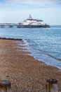 Eastbourne pier photography of south england uk Stock Photography