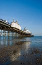 Eastbourne pier on a sunny day east sussex united kingdom Royalty Free Stock Photos