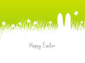 Easter background with copy space Royalty Free Stock Image