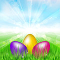Easter background vector illustration of Stock Photos