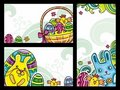 Easter banners 2 Royalty Free Stock Images