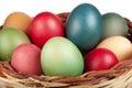 Easter Basket Filled Colored E...