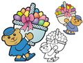 Easter bear Royalty Free Stock Images