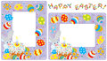 Easter borders Royalty Free Stock Photo