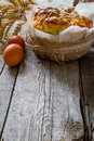 Easter Bread And Ingredients O...
