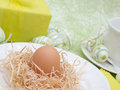 Easter Breakfast Royalty Free Stock Photos
